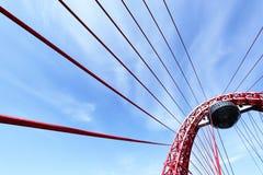 Free Suspension Bridge Royalty Free Stock Image - 9112616