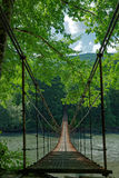 Suspension bridge Stock Photography