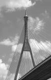 Suspension bridge in Bangkok Royalty Free Stock Photos