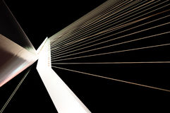 Suspension Bridge Cables Royalty Free Stock Images