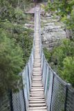 A Suspension Bridge stock photography