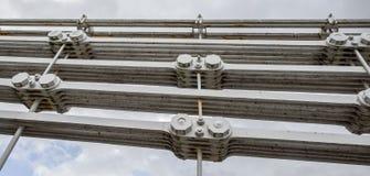 Suspension Bridge Detal Royalty Free Stock Photos