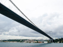Suspension bridge, Istanbul Stock Image