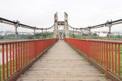 Suspension bridge Stock Photos