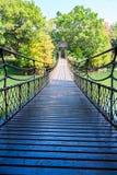 The suspension bridge Stock Images
