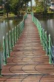 Suspension bridge Royalty Free Stock Photos