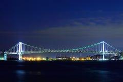 Suspension bridge in Tokyo Bay Stock Photography
