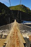 Suspension Bridge (Tsitsikamma National Park) Royalty Free Stock Photo