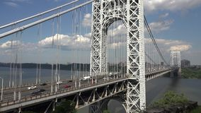 Suspension Bridges, Spans stock video footage