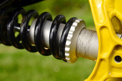 Suspension de bicyclette Image stock