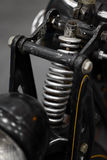 Suspension de moto Photos stock