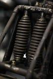 Suspension de moto Image stock