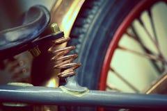 Suspension de moto Photographie stock libre de droits