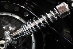 Suspension de moto Photo libre de droits