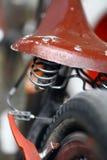 Suspension de moto Images libres de droits