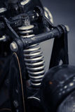 Suspension de moto Images stock