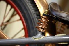 Suspension de moto Photos libres de droits