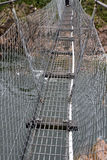 Suspension footbridge Royalty Free Stock Photo