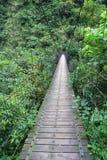 A Suspension Footbridge in Taiwan Stock Photos