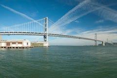 Suspension Oakland Bay Bridge in San Francisco Royalty Free Stock Images