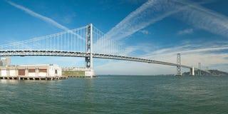 Suspension Oakland Bay Bridge in San Francisco Royalty Free Stock Photography