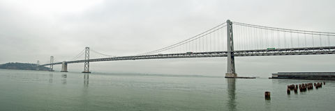 Suspension Oakland Bay Bridge in San Francisco Stock Photography