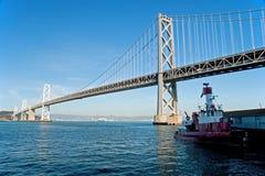 Suspension Oakland Bay Bridge in San Francisco Stock Image