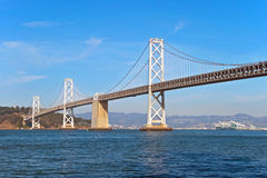 Suspension Oakland Bay Bridge in San Francisco Royalty Free Stock Photo