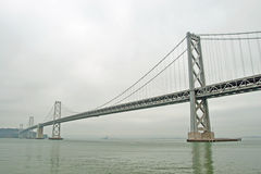 Suspension Oakland Bay Bridge in San Francisco Stock Photo