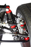 Suspension and Shock Assembly Isolated Royalty Free Stock Photos