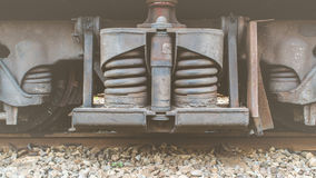 Suspension of Thai train vintage style Royalty Free Stock Photography