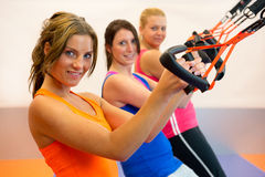 Suspension training Stock Image