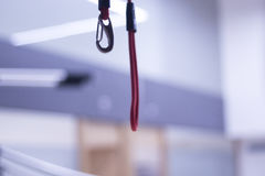 Suspension training physical therapy Royalty Free Stock Photos