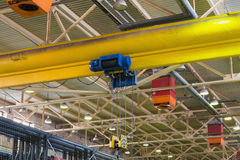 Suspension winch Royalty Free Stock Photo