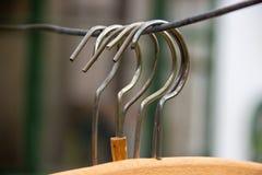 Suspensiones de paño Imagen de archivo libre de regalías