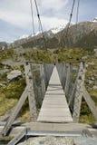 Suspention bridge Stock Photo