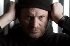 Suspicious Man Royalty Free Stock Images
