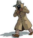 Suspicious man Stock Image