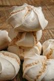 Suspiro of merengue suikergoed royalty-vrije stock afbeeldingen