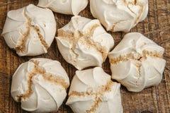 Suspiro of merengue suikergoed royalty-vrije stock foto