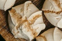 Suspiro of merengue suikergoed royalty-vrije stock afbeelding
