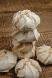Suspiro of merengue suikergoed stock fotografie