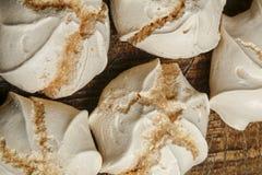 Suspiro of merengue suikergoed stock afbeeldingen