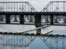Susquehanna桥梁 免版税图库摄影
