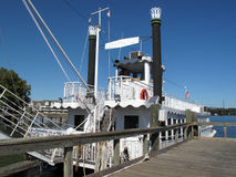 Susquehanna Fluss-Ausflug-Boot Stockfoto