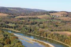 Susquehanna river fishing Stock Photo