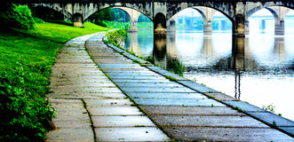 Susquehanna River Path Royalty Free Stock Photography