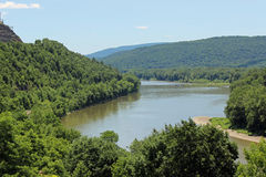 Susquehanna River valley Royalty Free Stock Images