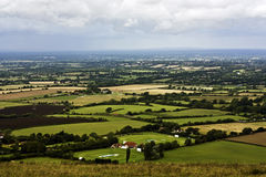 Sussex-Abstiege stockfotos