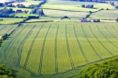 Sussex farmland Royalty Free Stock Photo